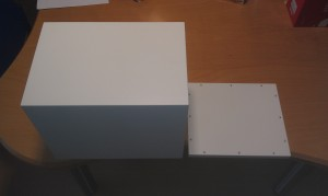 FirstTime 7 Bausatz weiß lackiert