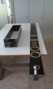 Little-Princess Bausatz Multiplex mit Acrylux hochglanz schwarz