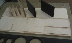 Little-Princess Bausatz Multiplex mit MDF schwarz