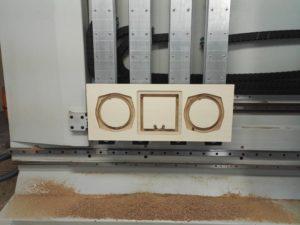SON MK II Schallwand auf CNC 01